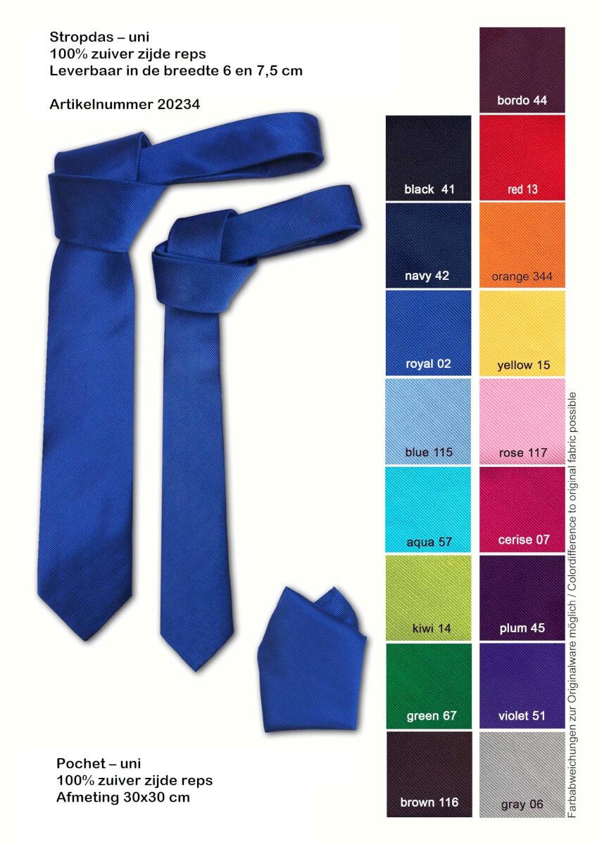 Eigen stropdas laten maken