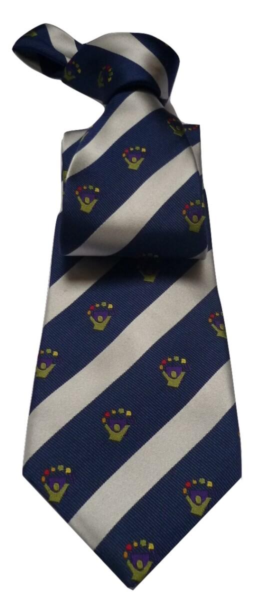 Voorbeeld stropdassen met logo